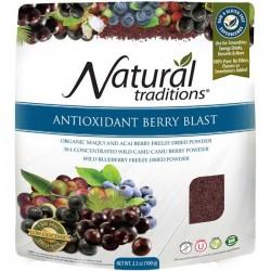 Μίξη Μούρων | Antioxidant Berry Blast Organic 100gr