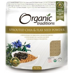 Omega Chia & Flax Sprouted Organic 227gr