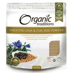 Φύτρο Chiα & Λιναρόσπορου | Chia & Flax Sprouted Organic 454gr