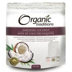 Βιολογική Τεμαχισμένη καρύδα | Coconut Shredded Organic | 200gr