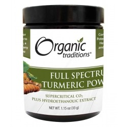 Turmeric Full Spectrum Powder Organic | 33gr