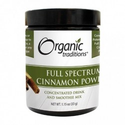 Cinnamon Full Spectrum Powder Organic | 33gr