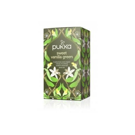Γλυκιά Βανίλια και Πράσινο Τσάι