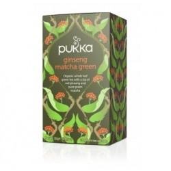 Τζίνσενγκ, Μάτσα & Πράσινο τσάι | Ginseng Matcha Green
