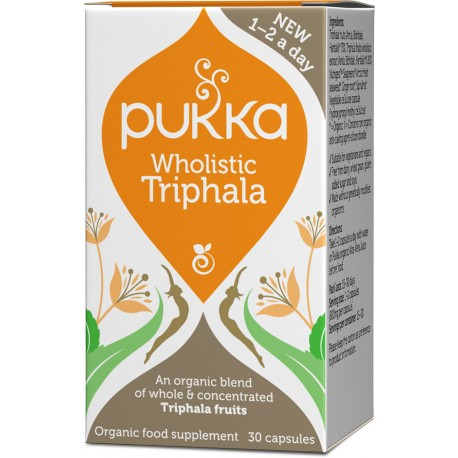 Organic Wholistic Triphala | 30caps