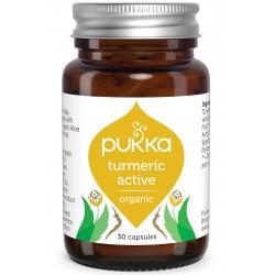 Βιολογικός Κουρκουμάς για Μυϊκα Προβλήματα | Organic Turmeric Active | 30caps