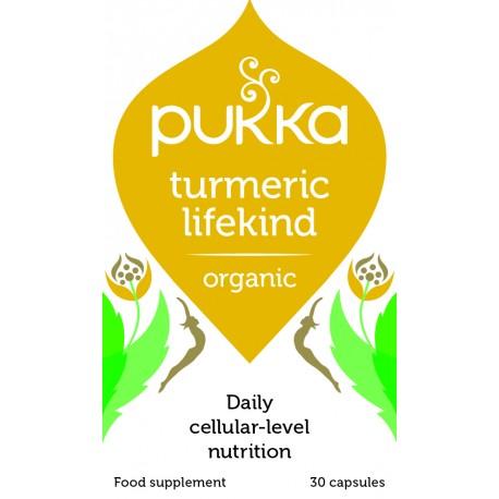 Organic Turmeric LifeKind | 30caps