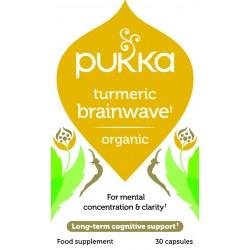 Για την Λειτουργία του Εγκεφάλου | Organic Turmeric Brainwave | 30caps