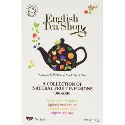 Ποικιλία Τσαγιών 4 είδη χ 5 φακελάκια | Org. Assorted Fruit Teas