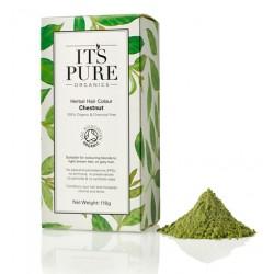 Οργανική Φυτική βαφή μαλλιών - Καστανό | Chestnut - Organic Herbal hair Colour