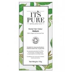 Οργανική φυτική βαφή μαλλιών - Πυρόξανθο | Auburn - Organic Herbal hair Colour