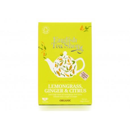 Οργανικό Λεμονόχορτο, Τζίντζερ & Κιτροειδή | Org. Lemongrass, Ginger and Citrus Fruits