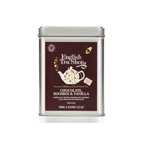 Μεταλλικό Κουτί με Ρόιμπος, Σοκολάτα & Βανίλια | Org . Rooibois Chocolate Vanilla