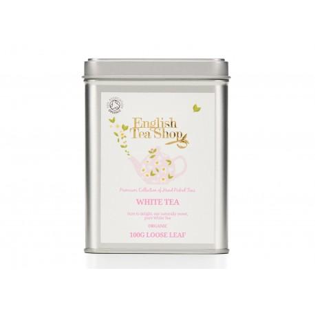 Μεταλλικό Κουτί με Άσπρο Τσάι | Org. White Tea
