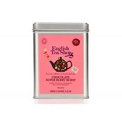 Μεταλλικό Κουτί με Σοκολάτα και Σούπερ Μούρα | Org. Chocolate Super Berry Burst