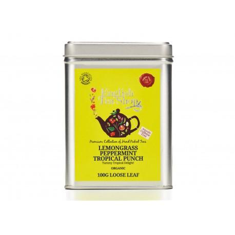 Μεταλλικό Κουτί με Λεμονόχορτο & Μέντα   Org. Lemongrass Peppermint Tropical Punch