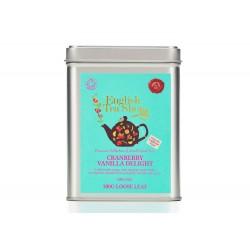Μεταλλικό Κουτί με Κράνμπερι & Βανίλια | Org. Cranberry Vanilla Delight
