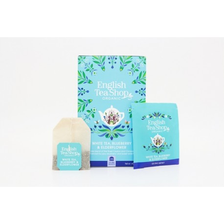 Οργανικό Άσπρο Τσάι, Μύρτιλα & Σαμπούκο | Org. White Tea Blueberry and Elderflower