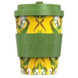 Κούπα Μπαμπού | Bamboo Mug Turmeric design