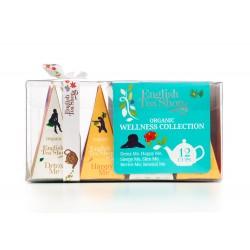 Συλλογή Eυεξίας με 12 Πυραμίδες Τσαγιού | Wellness Tea Collection 12ct Pyramid