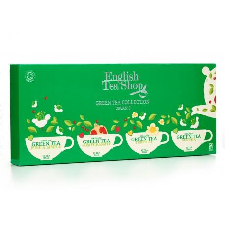 Κλασική Συλλογή Πράσινων Τσαγιών   Org.Classic Green Tea Collection - 60ct Single Chamber