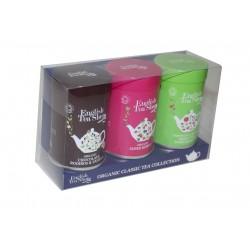 Δώρο 3ων Γεύσεων με Χύμα Τσάι σε Μεταλλικό Κουτί 75γρ | Organic Super Mini Tins - 75g Loose Tea