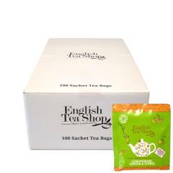 Μεταλλικό Κουτί με Λεμονόχορτο, Τζίντζερ & Πορτοκάλι | Org. Lemongrass Ginger and Citrus Fruits 100 τεμ.
