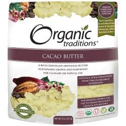 Οργανικό Βούτυρο Κακάο | Organic Cacao Butter | 200gr