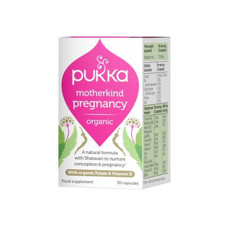 Οργανικό Συμπλ. για την Εγκυμοσύνη | Organic Motherkind Pregnancy | 30caps