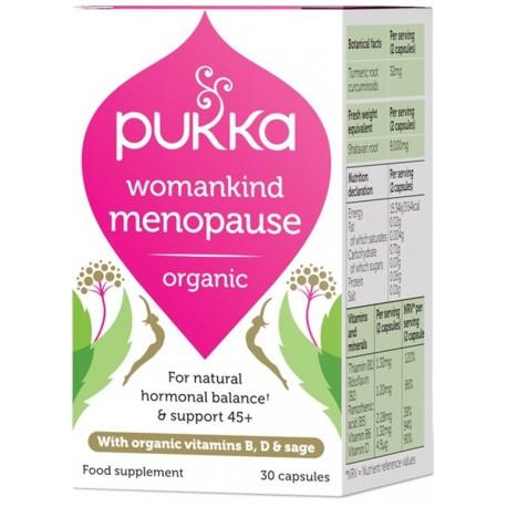 Οργανικό Συμπλ. για την Εμμηνόπαυσης | Womankind Menopause | 30caps