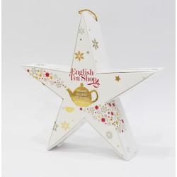 Συλλογή Χριστουγέννων | Holiday Collection organic Red Gold Star | 6 τεμ.