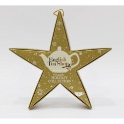 Συλλογή Χριστουγέννων | Holiday Collection Organic Golden Star | 6 πυραμίδες.