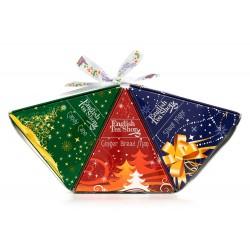 Συλλογή Χριστουγέννων | Gingerbread Man, Candy Cane, Silent Night - 3x6ct Pyramid | 3x6 πυραμίδες.