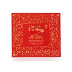 Συλλογή Χριστουγέννων | Org. Holiday Red Tray - 96ct Sachet | 96 φακελάκια