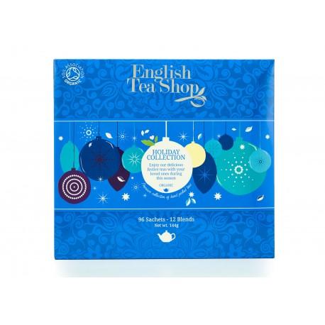 Συλλογή Χριστουγέννων | Org.Holiday Blue Baubles Tray - 96ct Sachet | 96 φακελάκια