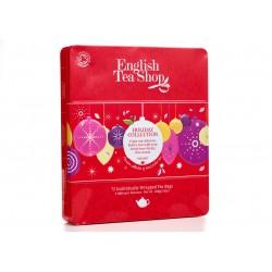 Συλλογή Χριστουγέννων | Org.Holiday Red Baubles Tin - 72ct Sachets | 72 φακελάκια