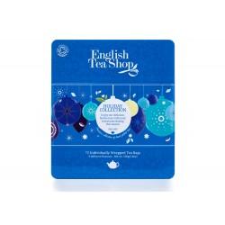 Συλλογή Χριστουγέννων | Org.Holiday Blue Baubles Tin - 72ct Sachets | 72 φακελάκια