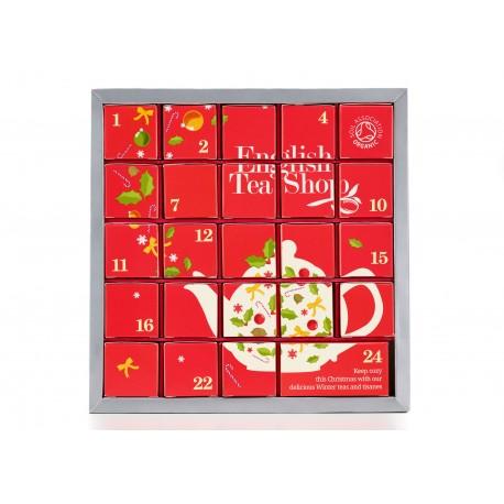 Συλλογή Χριστουγέννων   X'Mas Org.Pink Advent Calender - 24ct Sachets   24 φακελάκια