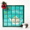 Συλλογή Χριστουγέννων | Blue Advent Calendar 25ct Pyramid | 25 πυραμίδες.