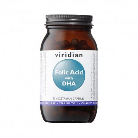 Φυλλικό Οξύ | Folic Acid with DHA | 400ug | 90caps