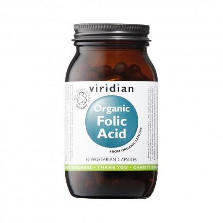 Οργανικό Φυλλικό Οξύ | Organic Folic Acid | 400ug 90caps
