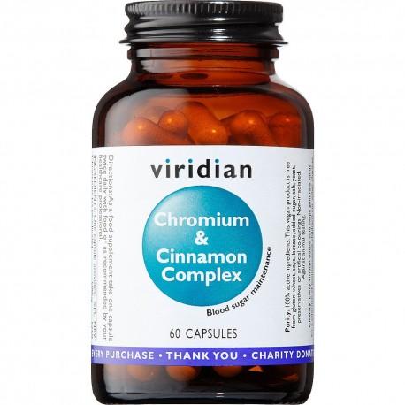 Σύμπλεγμα χρωμίου και κανέλας   Chromium & Cinnamon Complex   60 caps