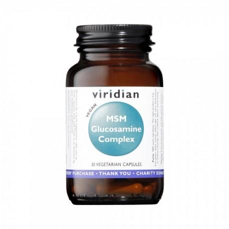 Σύμπλεγμα γλυκοζαμίνης και MSM   Glucosamine MSM Complex   30 Caps