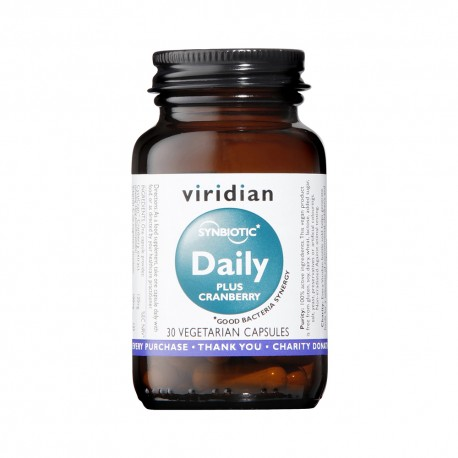 Synbiotic Daily Plus Cranberry | 30caps