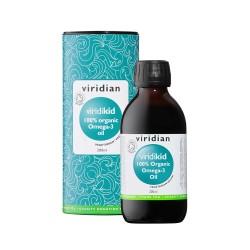 ΒΙΟ Ωμέγα 3 Λιπαρά Οξέα για Παιδιά | ViridiKid Organic Omega-3 Oil 200ml