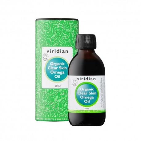100% BIO Λάδι με Ωμέγα για Καθαρή Επιδερμίδα   100% Organic Clear Skin Oil 200ml