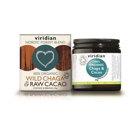 Οργανικό Τσαγκά Και Κακάο | Organic Chaga & Cacao | 30gr