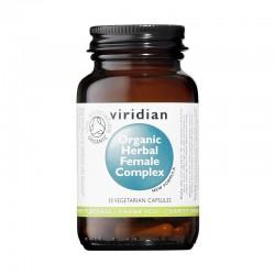 Σύμπλεγμα Βοτάνων για Γυναίκες | Organic Herbal Female Complex | 30caps