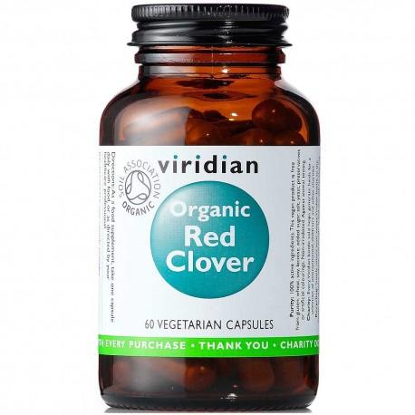Βιολογικό Κόκκινο Τριφύλλι   Organic Red Clover 400mg 60caps