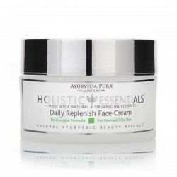Daily Replenish Face Cream: Re-Energise Formula - KAPHA (organic) | 50gr